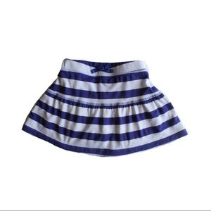 Children's Place Striped Flared Skirt, Size 5/6